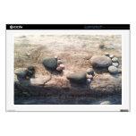 Huellas de la roca calcomanía para 43,2cm portátil
