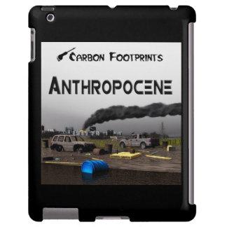 Huellas del carbono - Anthropocene Funda Para iPad