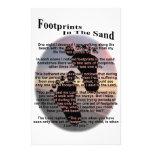 Huellas en la arena…  papeleria de diseño