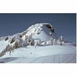 Huellas en la nieve escultura fotografica