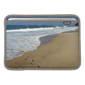 Huellas en la playa, Mabibi, Thongaland Fundas MacBook