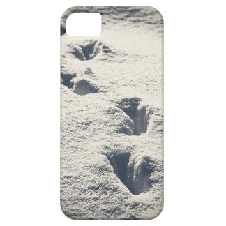Huellas en nieve de los deeps funda para iPhone SE/5/5s