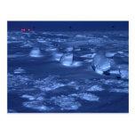 Huellas en South Pole Postal