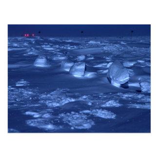 Huellas en South Pole Postales