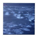 Huellas en South Pole Tejas Cerámicas