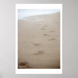 huellas - Fußspuren Póster