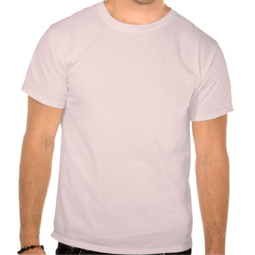 Huellas rosadas de la playa de Rehoboth Tshirt