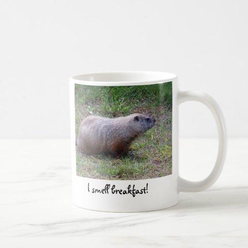 ¡Huelo el desayuno! taza
