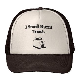 Huelo la tostada quemada gorras