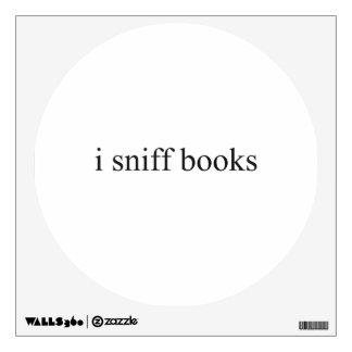 huelo los libros vinilo adhesivo