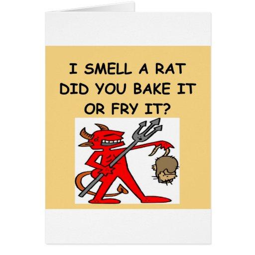 huelo una rata felicitaciones