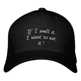 Huelo y como el gorra de It_Embroidered Gorra Bordada