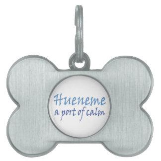 Hueneme - un puerto de calma placa de nombre de mascota