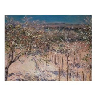 Huerta con el florecimiento de los manzanos, Colom Tarjetas Postales