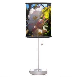Huerta de la primavera lámpara de mesa
