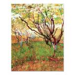 Huerta de Van Gogh en el flor, impresionismo del Invitacion Personal