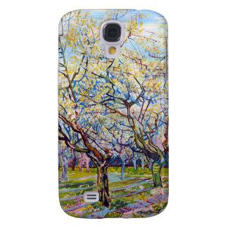 Huerta del blanco de Van Gogh Funda Para Galaxy S4