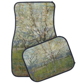 Huerta rosada de Vincent van Gogh Alfombrilla De Coche