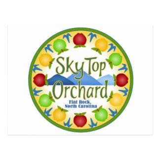 Huerta superior del cielo tarjetas postales