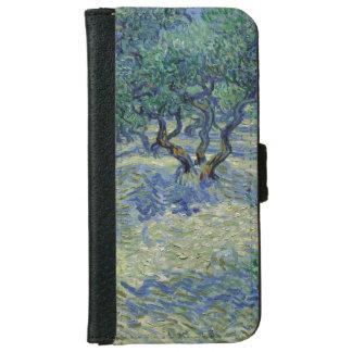 Huerta verde oliva de Vincent van Gogh Carcasa De iPhone 6