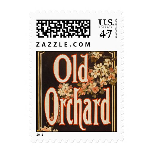 Huerta vieja 1900 - franqueo timbre postal