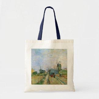 Huerto de Van Gogh en Montmartre Bolsa Tela Barata