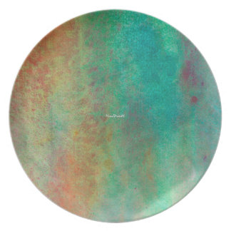 Hues and Shades Dinner Plate