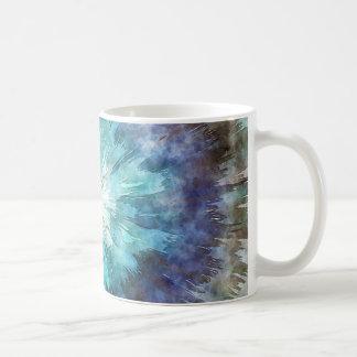 Hues of Blue Tie Dye Coffee Mug