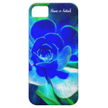 Hues of Blues - Funky Flower Petals iPhone 5 Covers