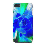 Hues of Blues - Funky Flower Petals iPod Touch (5th Generation) Cover