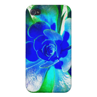 Hues of Blues Cases For iPhone 4