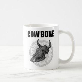 hueso de la vaca mono taza clásica