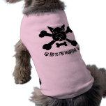 Hueso del perrito camisas de mascota