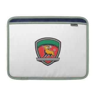 Hueso del Razorback del jabalí en el escudo de la Funda MacBook