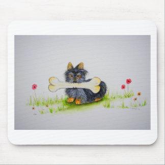 Hueso grande del pequeño perro (terrier de mouse pads