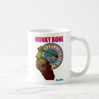 hueso monky taza básica blanca