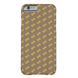 hueso para la textura del perro funda para iPhone 6 barely there