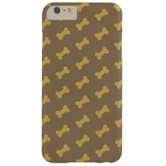 hueso para la textura del perro funda para iPhone 6 plus barely there