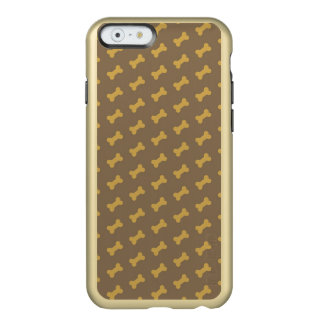 hueso para la textura del perro funda para iPhone 6 plus incipio feather shine