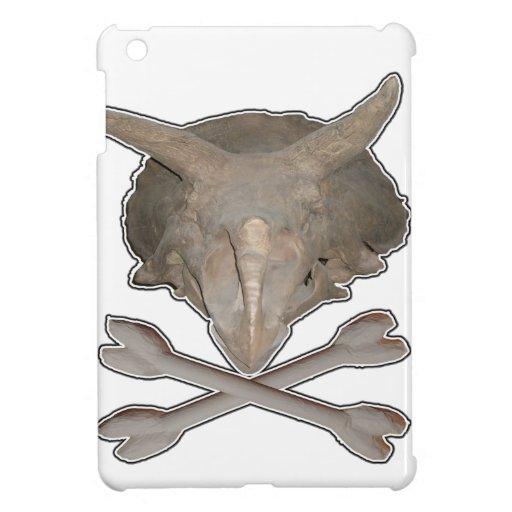 Huesos cruzados del cráneo n del Triceratops