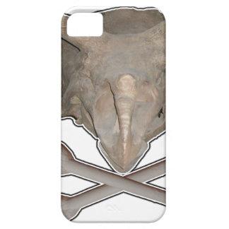 Huesos cruzados del cráneo n del Triceratops Funda Para iPhone SE/5/5s