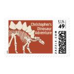 Huesos de dinosaurio de Stegosauras