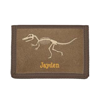 Huesos de dinosaurio frescos del Velociraptor para