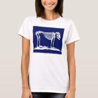 Huesos de perro - camisa de la impresión del perro