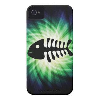 Huesos de pescados frescos Case-Mate iPhone 4 funda