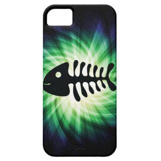 Huesos de pescados frescos iPhone 5 protector