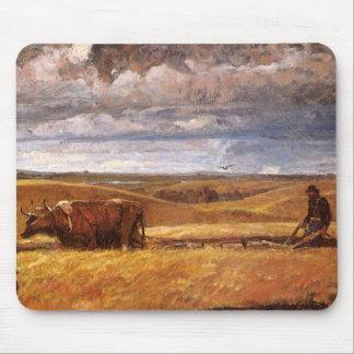 Huesos del búfalo arados debajo por Harvey Thomas Tapete De Ratón