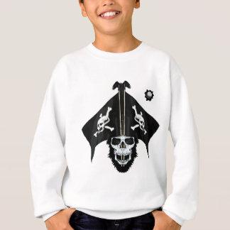 Huesos del cráneo y de la cruz del pirata sudadera