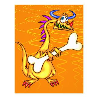 """Huesos del dragón folleto 8.5"""" x 11"""""""
