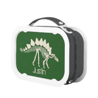 Huesos del Stegosaurus del dinosaurio
